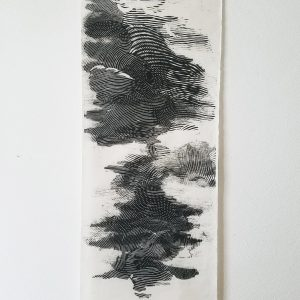 NUEE 3 - Printing on Thailande paper by Camille Oarda