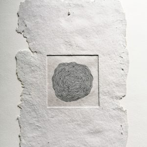 Cocoon Handmade Paper Artwork by Ainsel